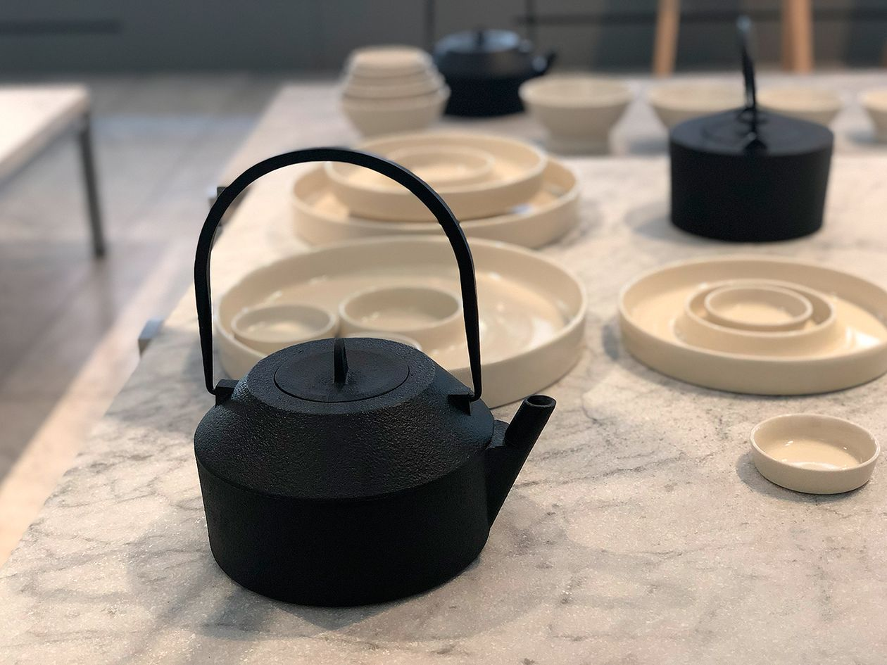 Iwatemo teapot