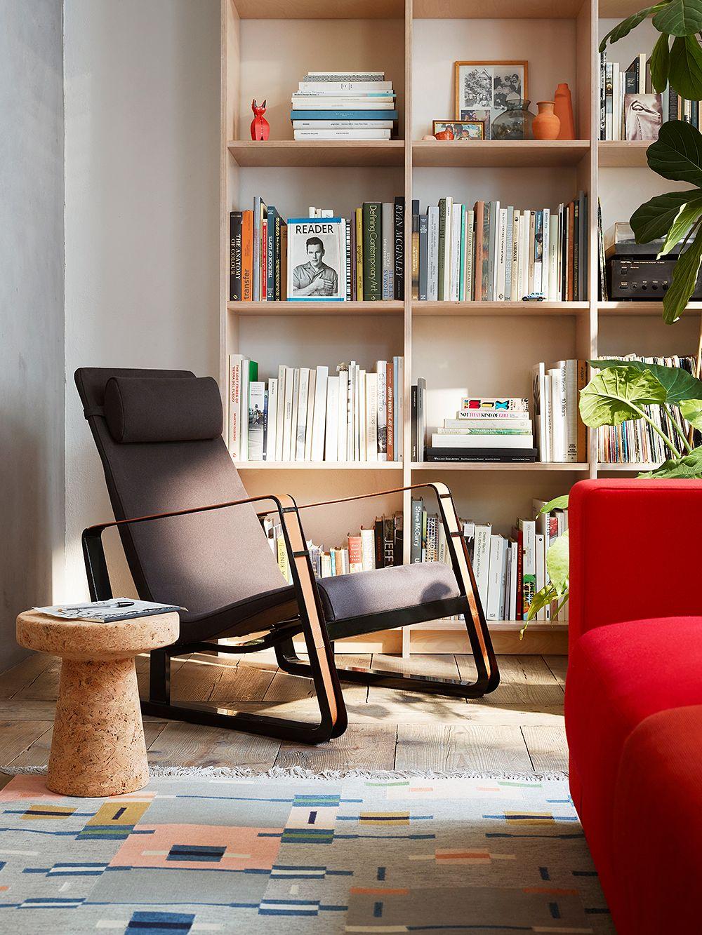 Vitra's Cité armchair designed by Jean Prouvé.