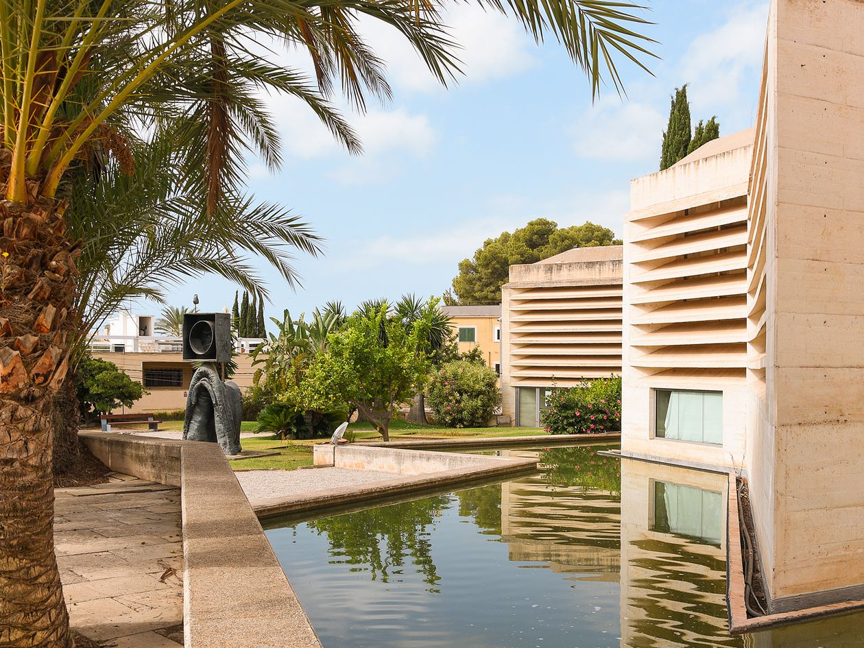 Moneo building, Fundació Miró Mallorca