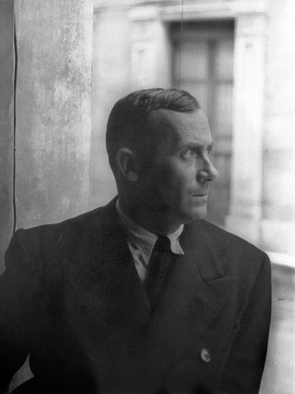 Joan Miró in Barcelona in 1935