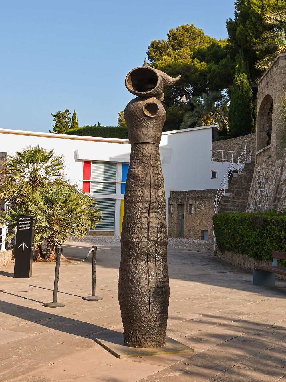 Joan Miró sculpture, Fundació Miró Mallorca