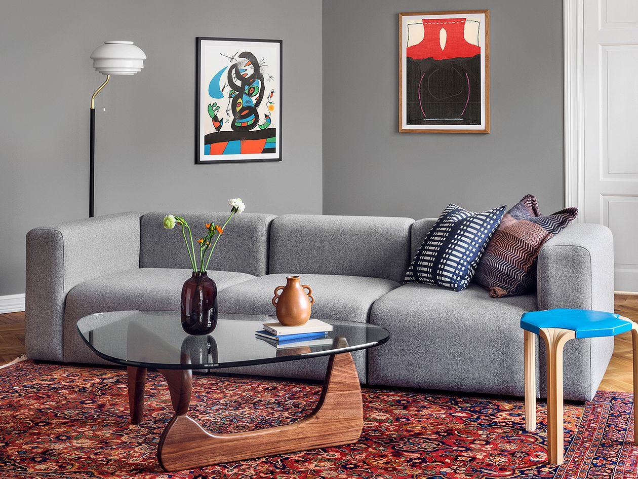 Johanna Gullichsen  Nereus cushion cover, dark blue