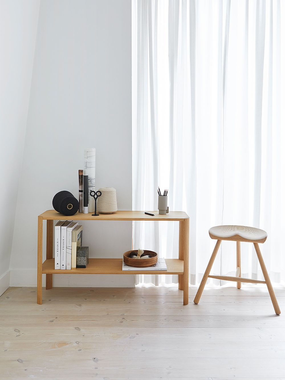 Form & Refine's Leaf shelf