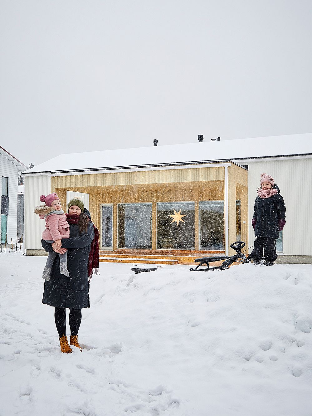 Edla's family home in Oulu