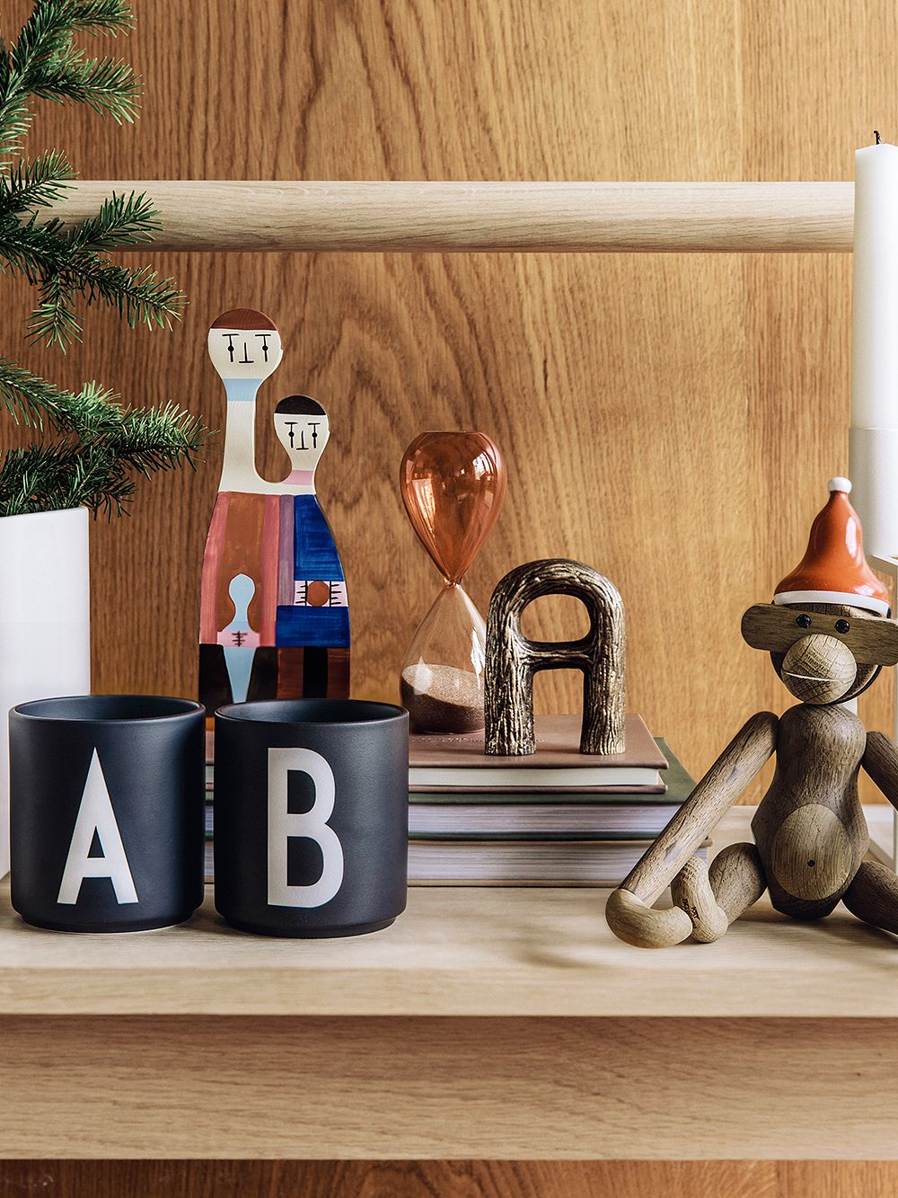 Design Letters' black Arne Jacobsen cups