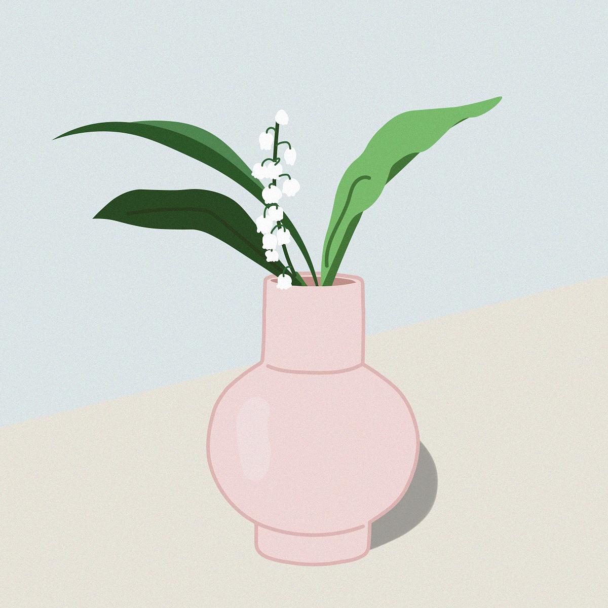 Raawii Strøm vase