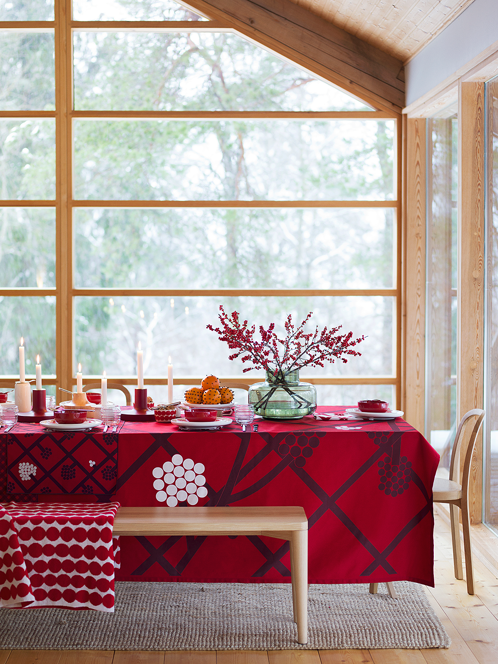 Marimekko table setting