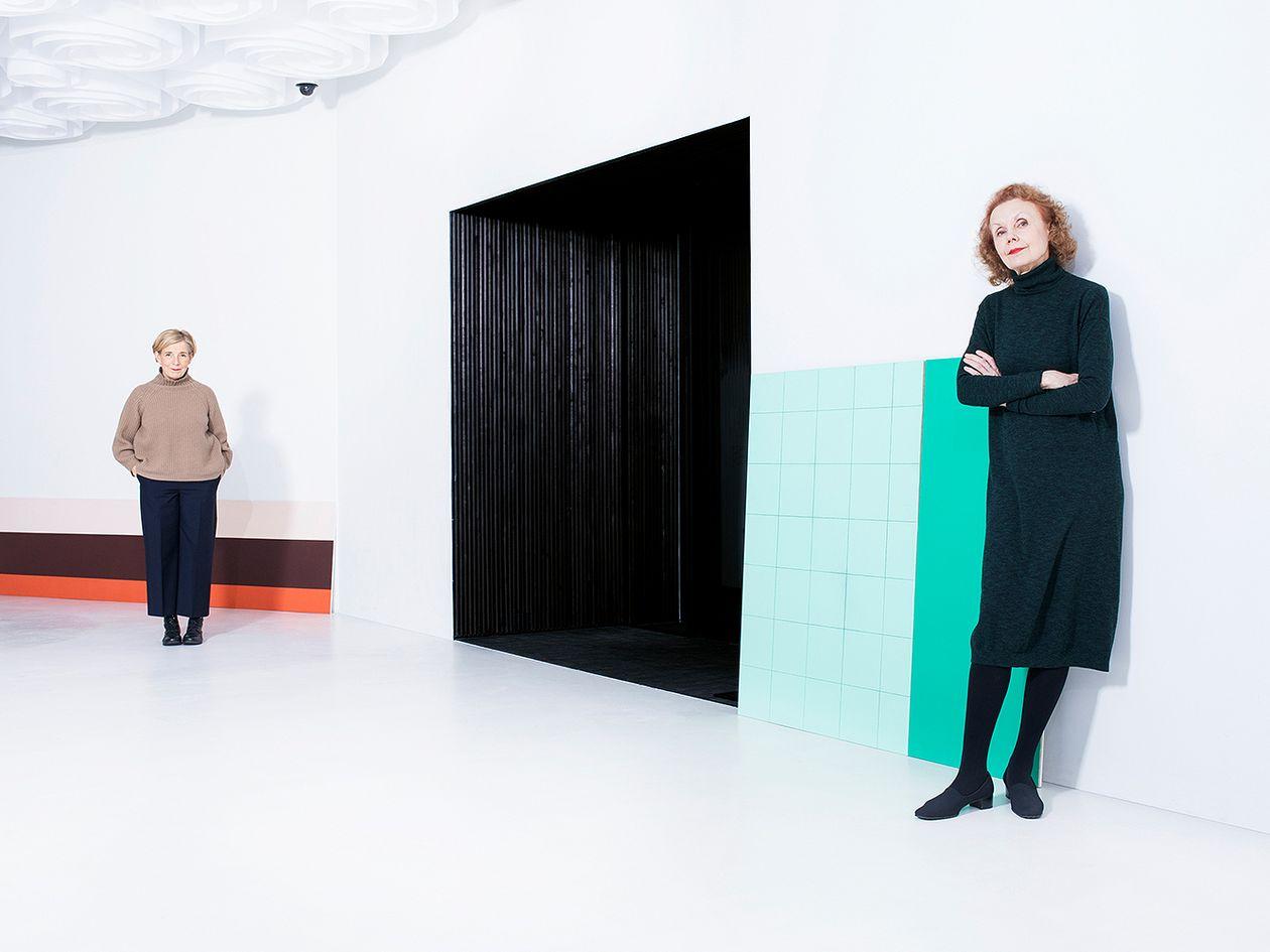 Amos Rex Blick exhibition