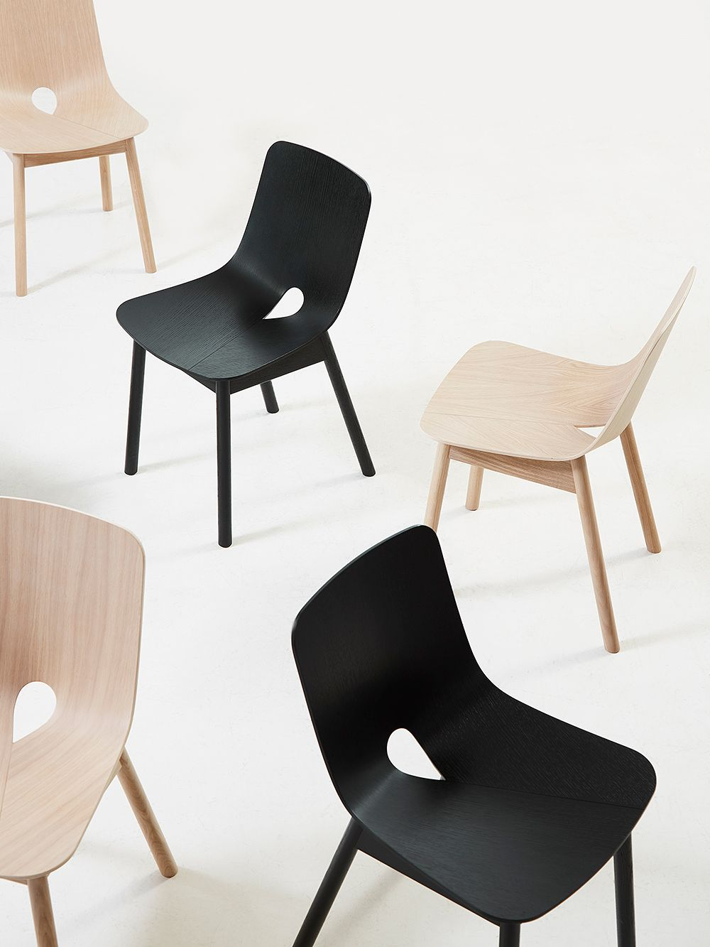Woud's Mono chairs by Kasper Nyman