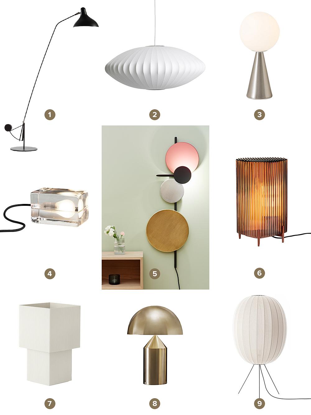Lighting at Finnish Design Shop