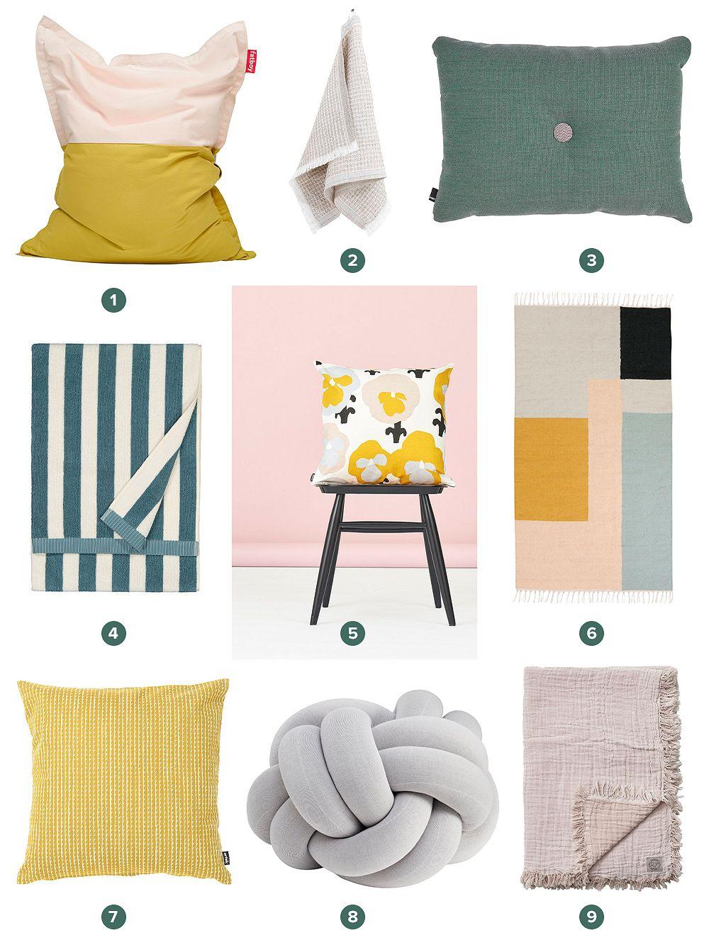 Textiles at Finnish Design Shop