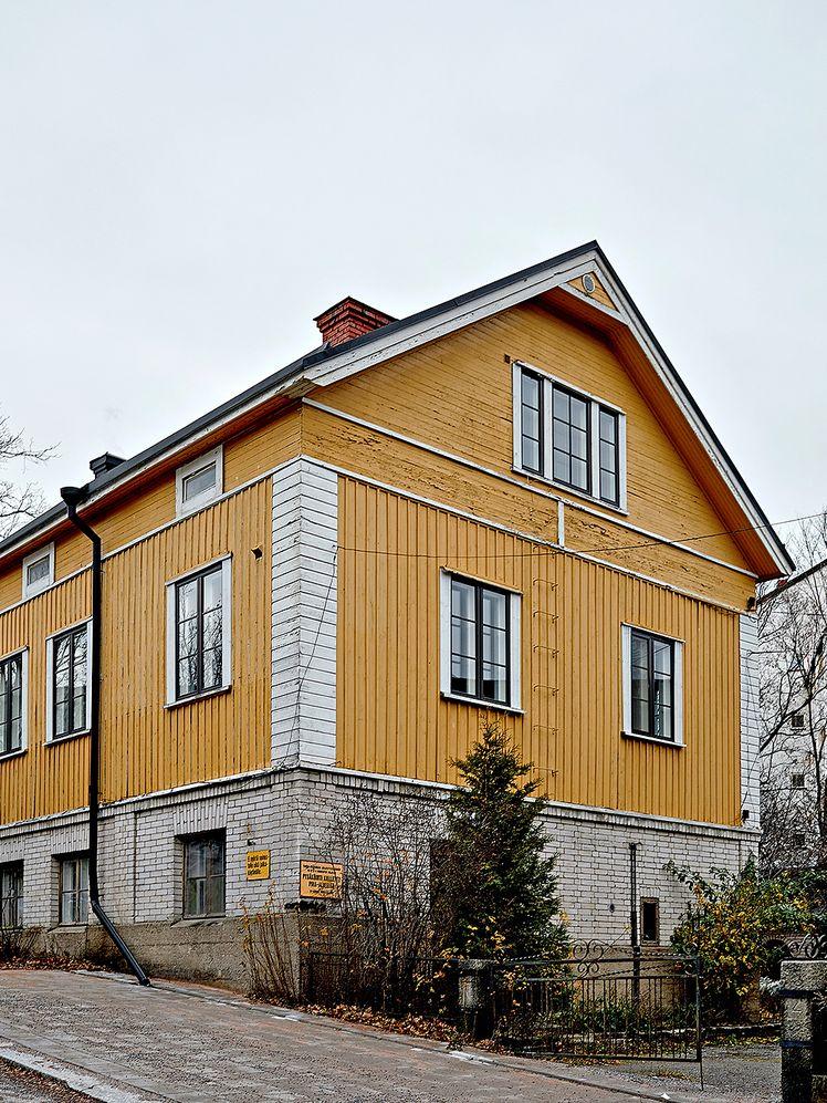 1920s wooden house in Turku