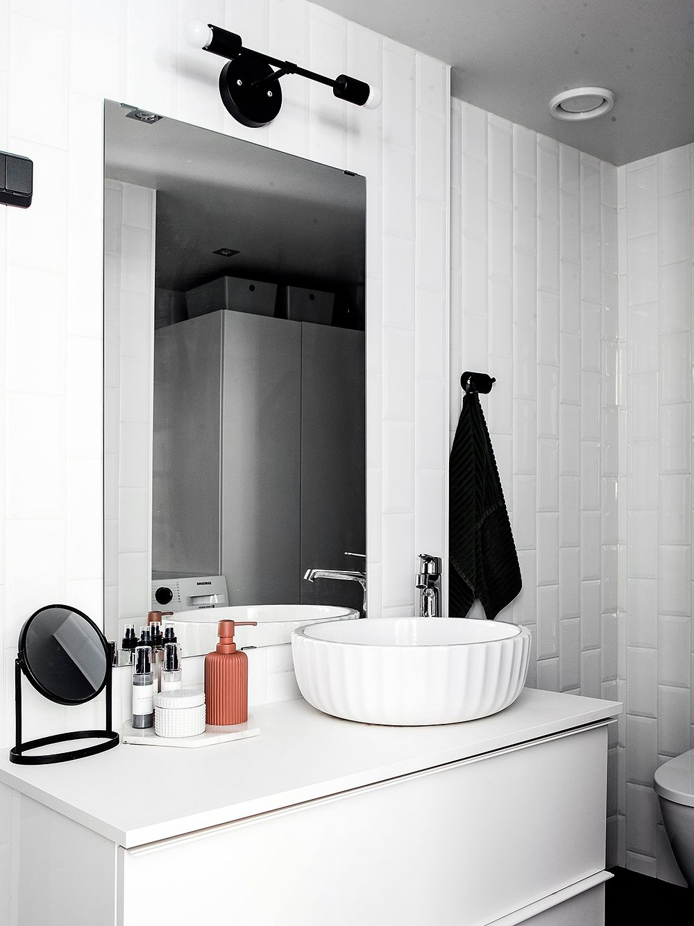 Bathroom – Loft living in an old fire station