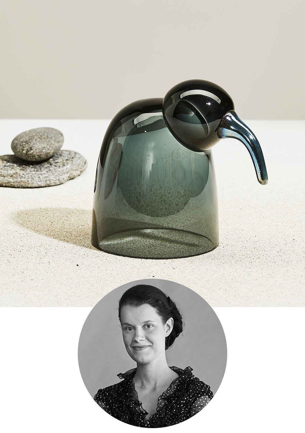 Iittala's Aili bird designed by Oiva Toikka
