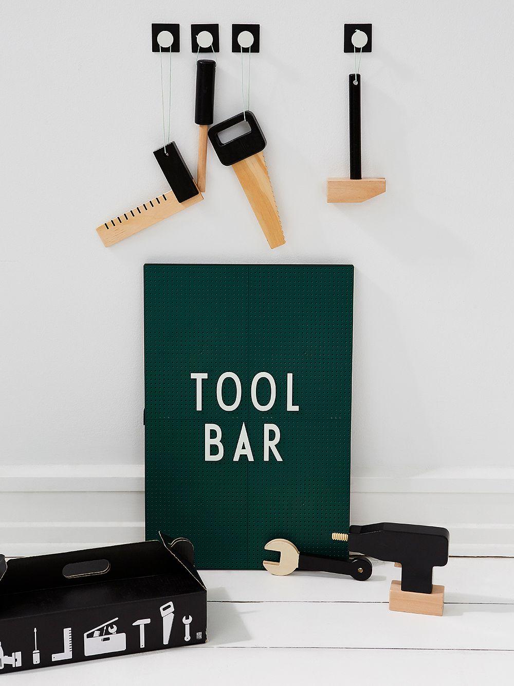 Design Letters Tool School set