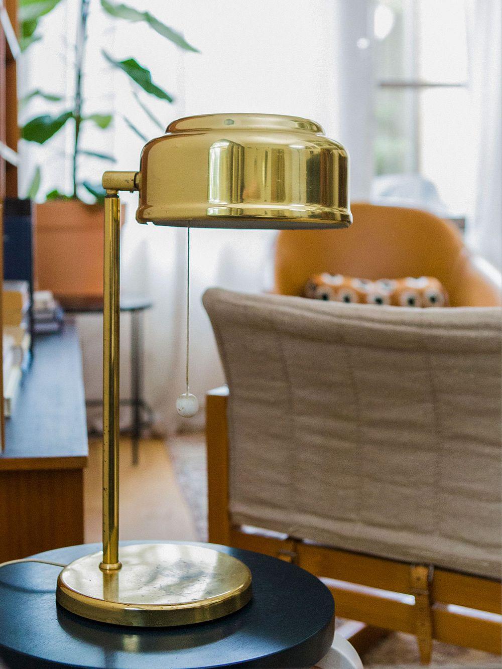 Ateljé Lyktan brass table lamp