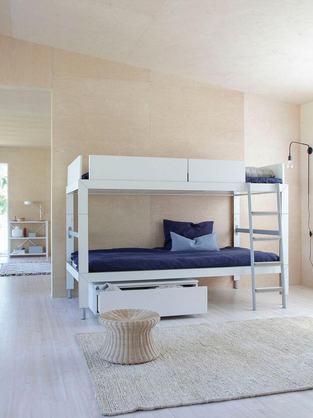 Lundia Lofty loft bed, low