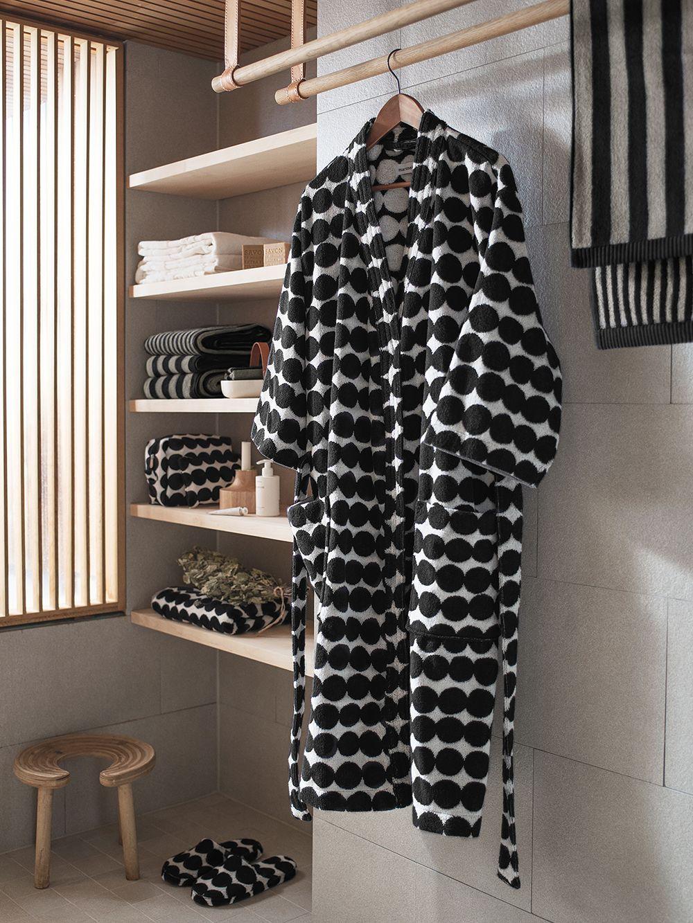 Marimekko Räsymatto bathrobe