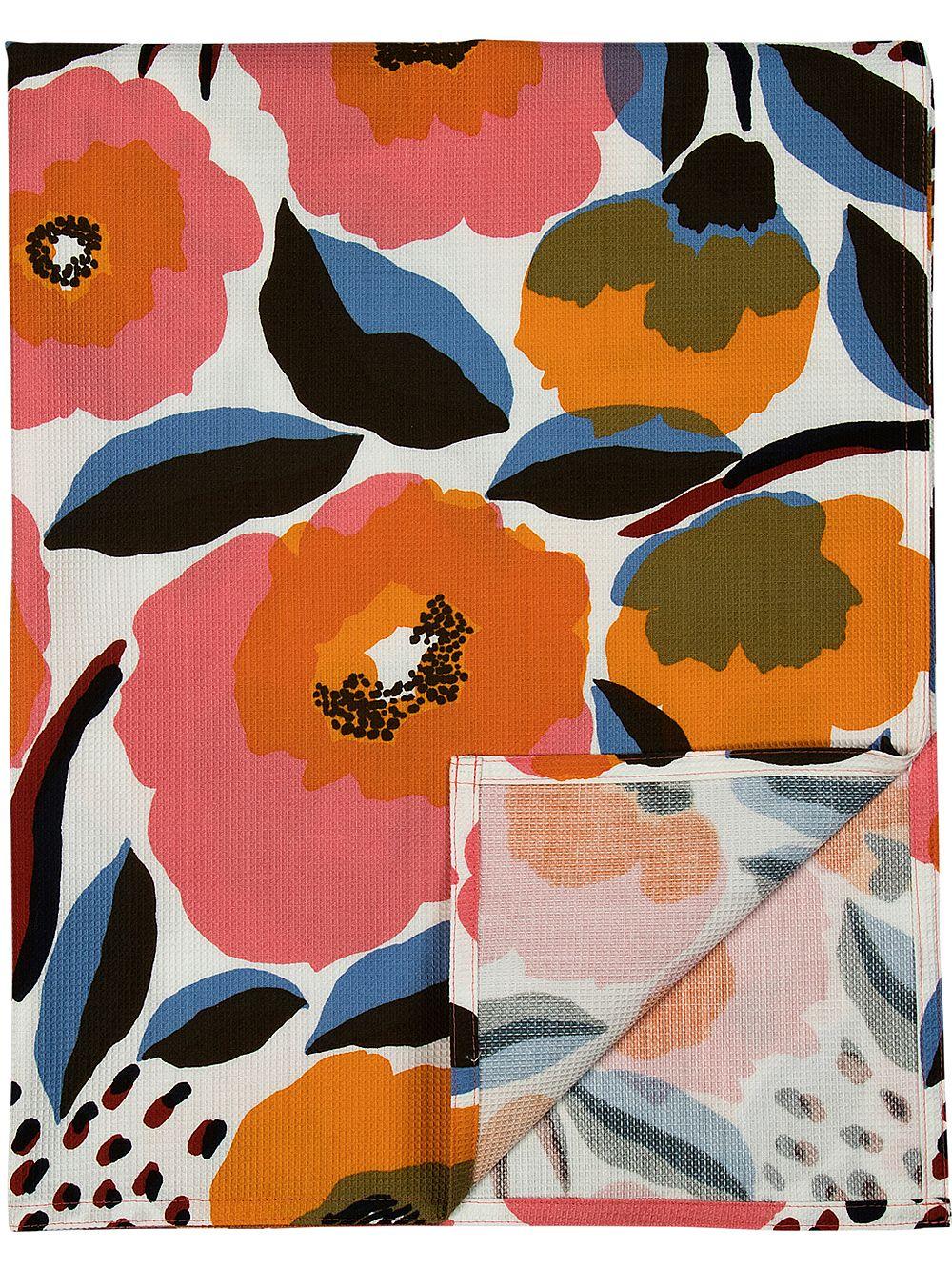 Marimekko Rosarium beach cloth