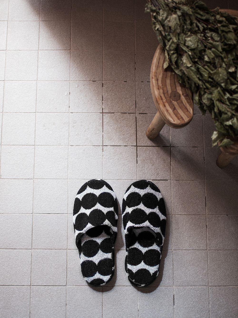 Marimekko Räsymatto slippers