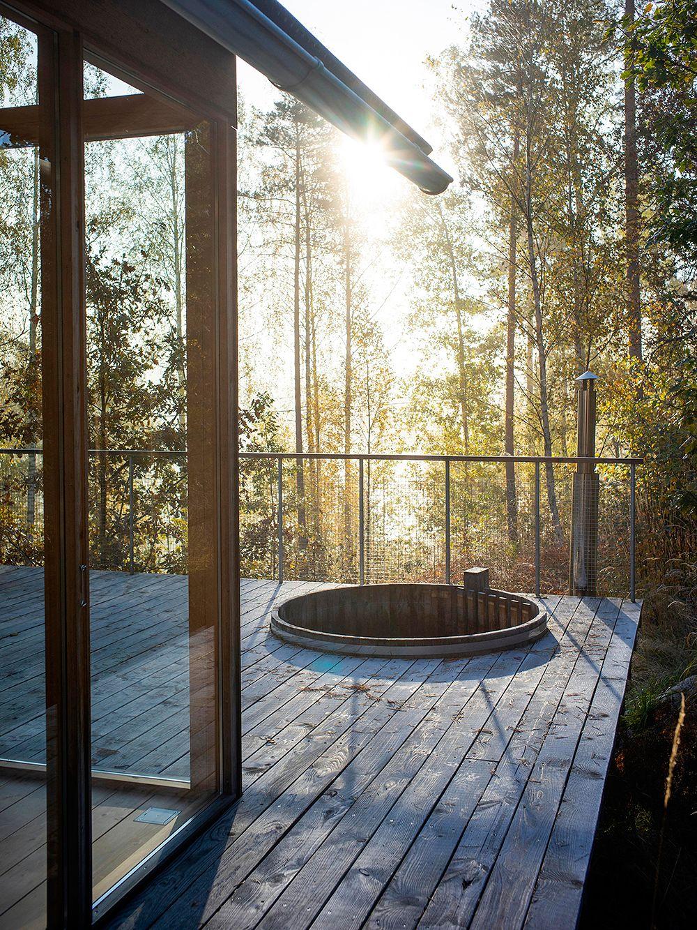 An open hideaway in Karjalohja
