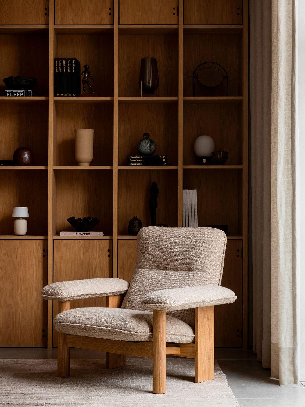 Menu Brasilia lounge chair