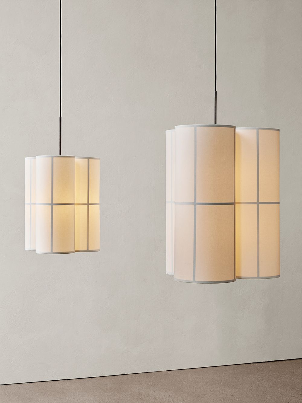 Menu Hashira pendant lights