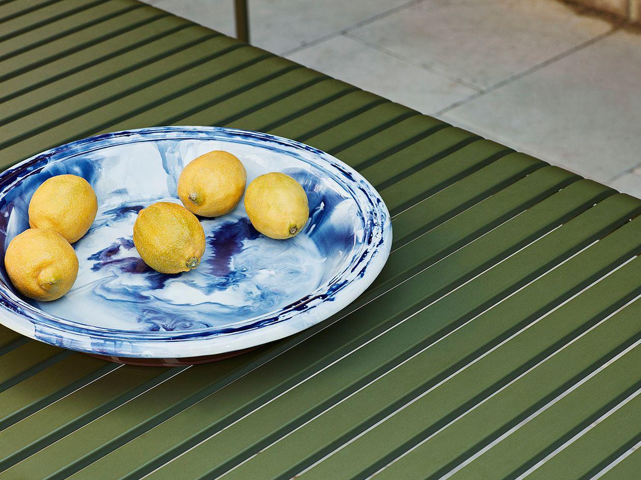 Hay Swirl bowl in blue