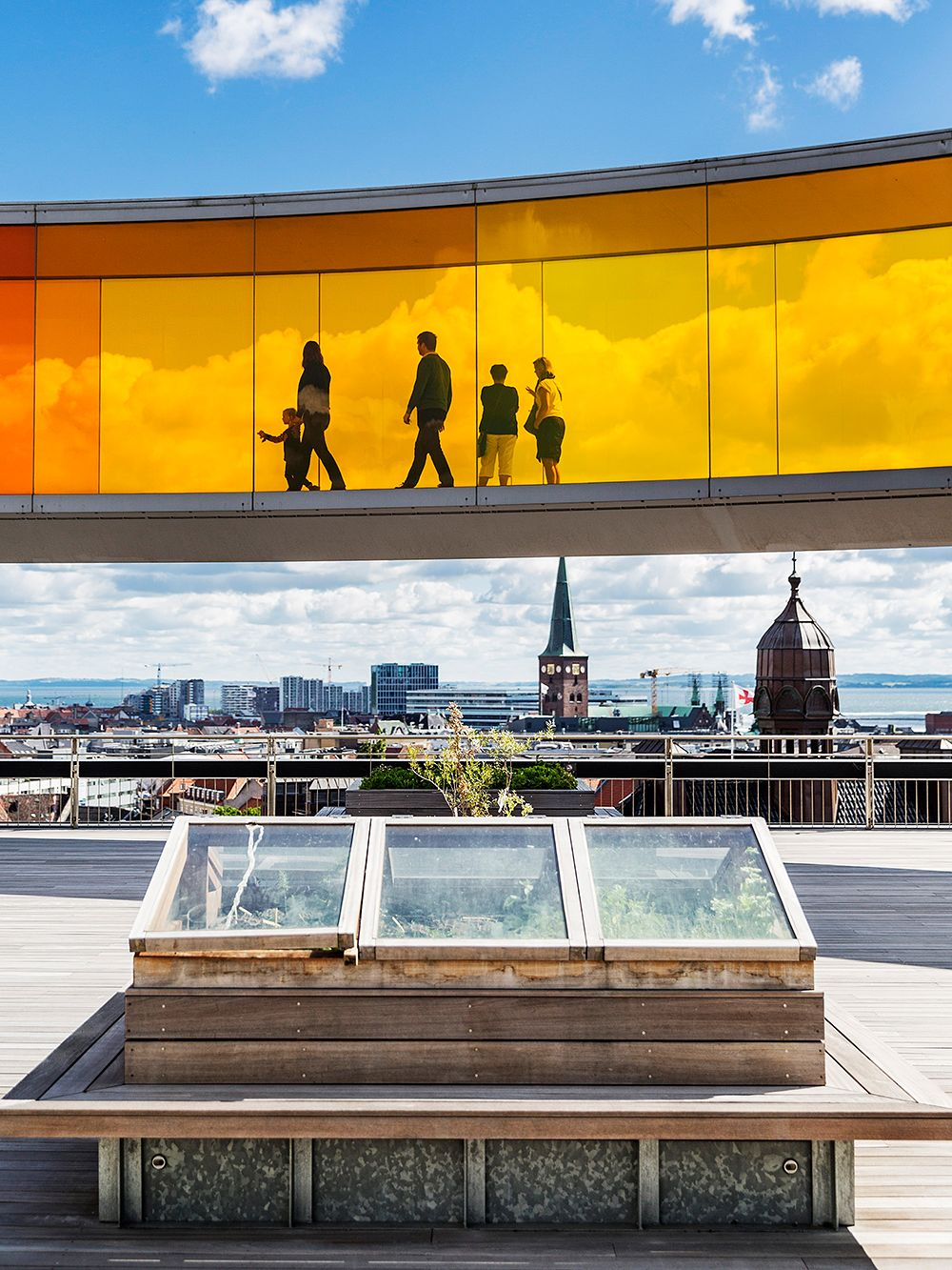 Your rainbow panorama by Olafur Eliasson in Aarhus