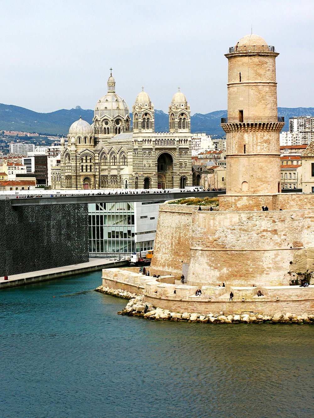 MuCEM and Fort Saint-Jean in Marseille