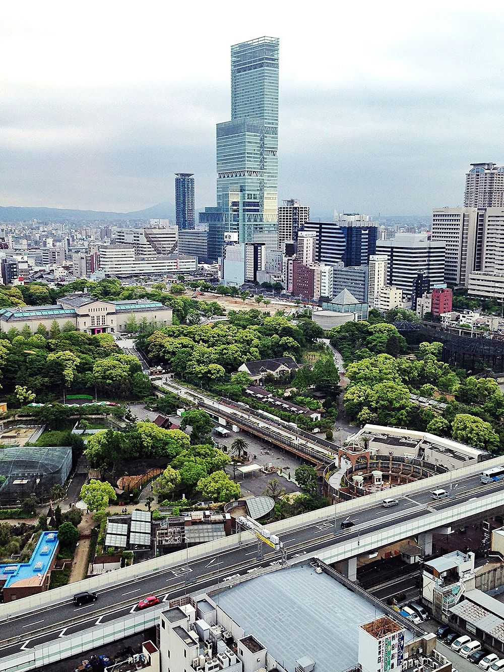 Abeno Harukas skyscraper in Osaka