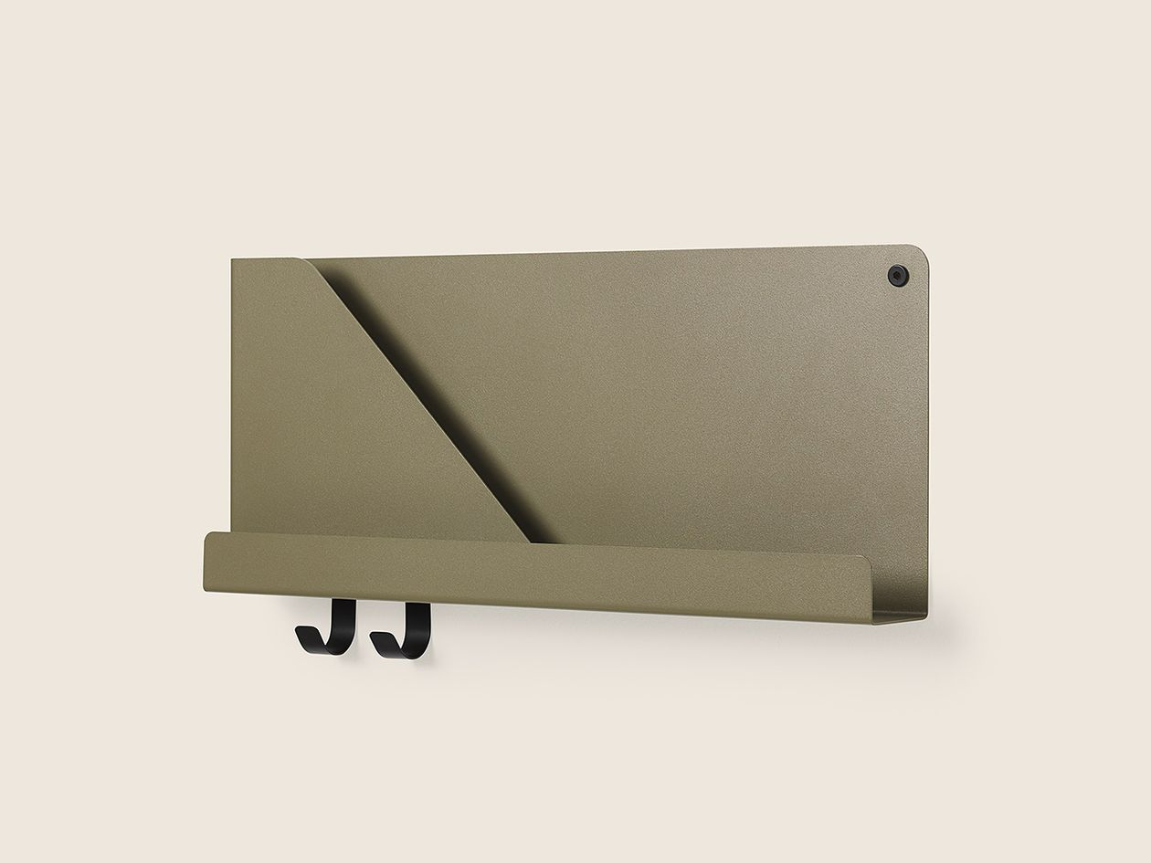 Muuto Folded shelf in olive