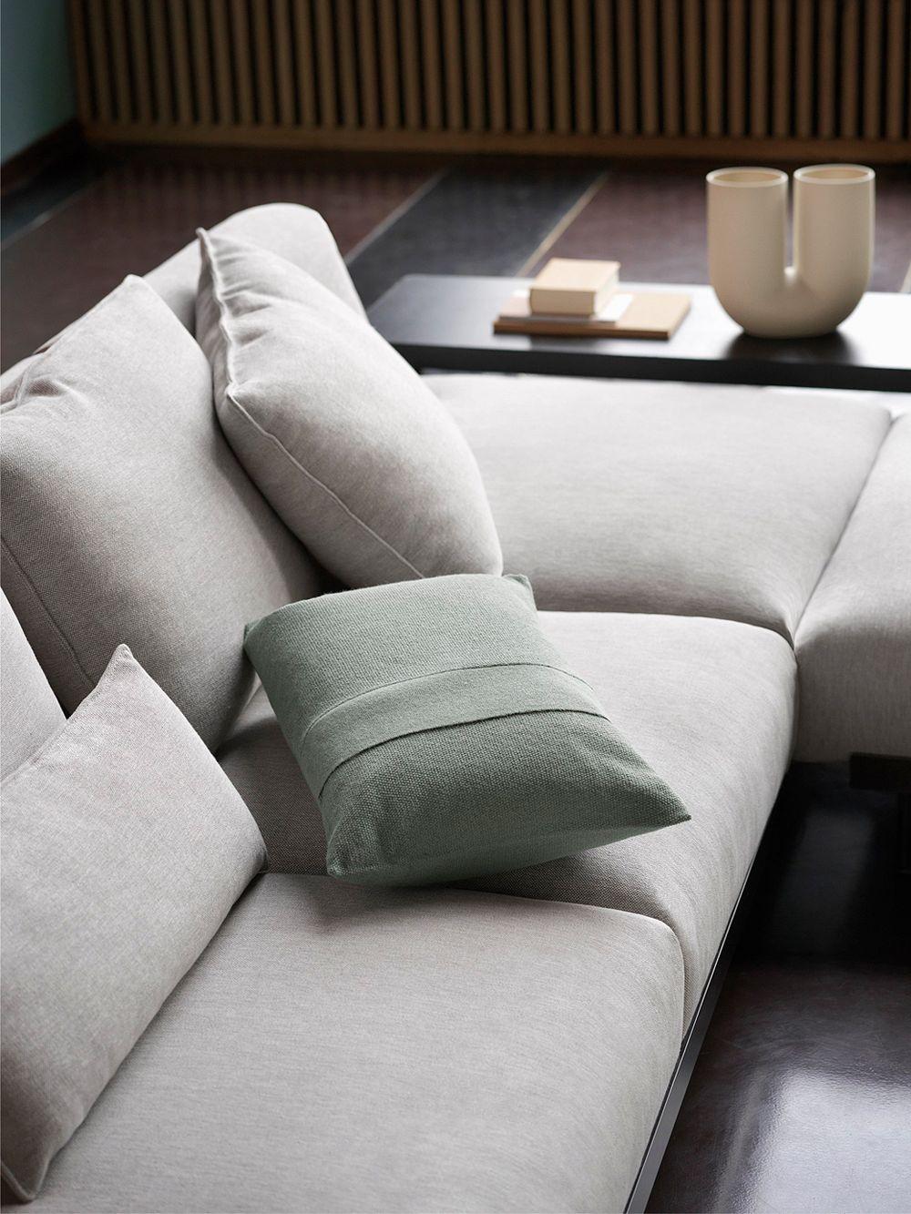 Muuto Layer Cushion, sage green