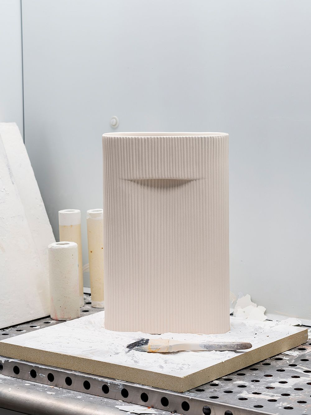 The prototype of Muuto's Ridge vase