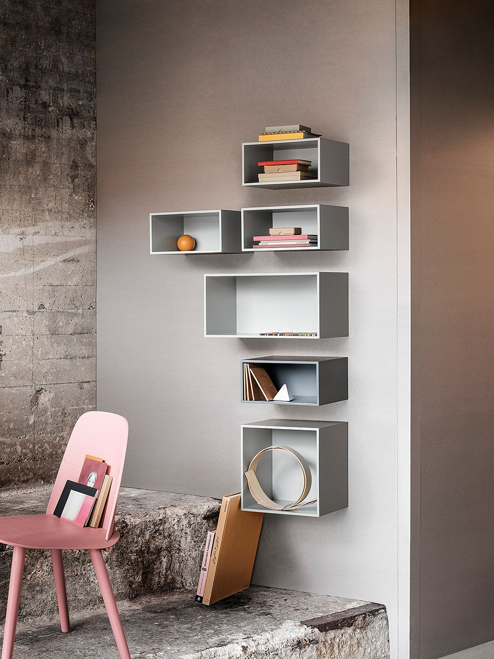 Muuto's Stacked shelving system