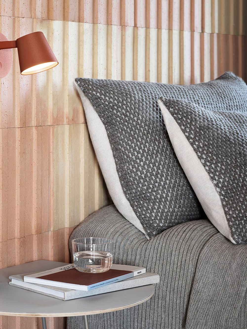 Muuto's Twine cushions