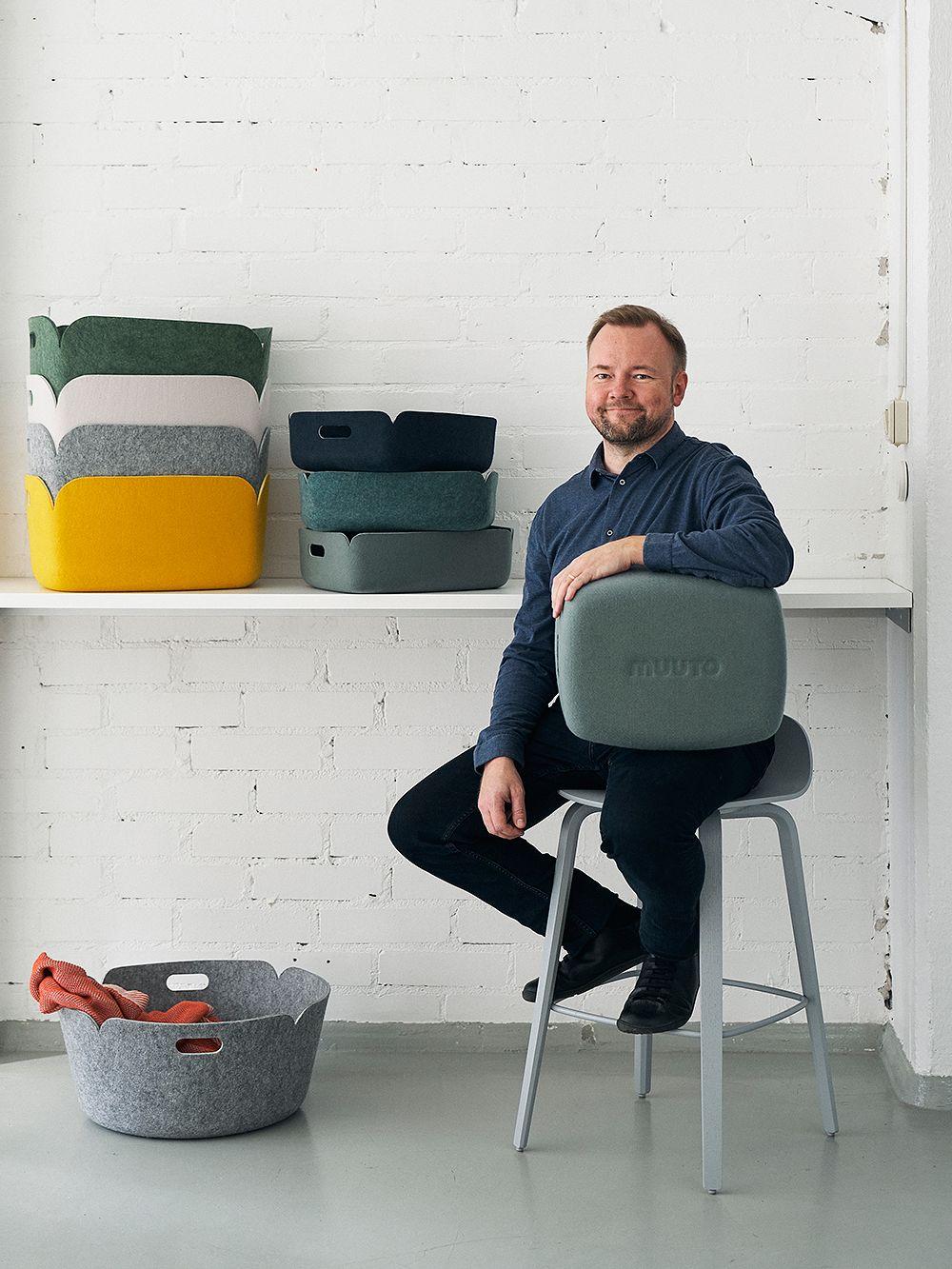 Designer Mika Tolvanen
