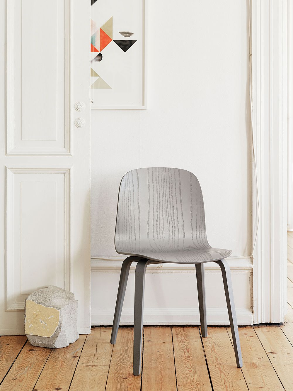 Muuto Visu chair, grey