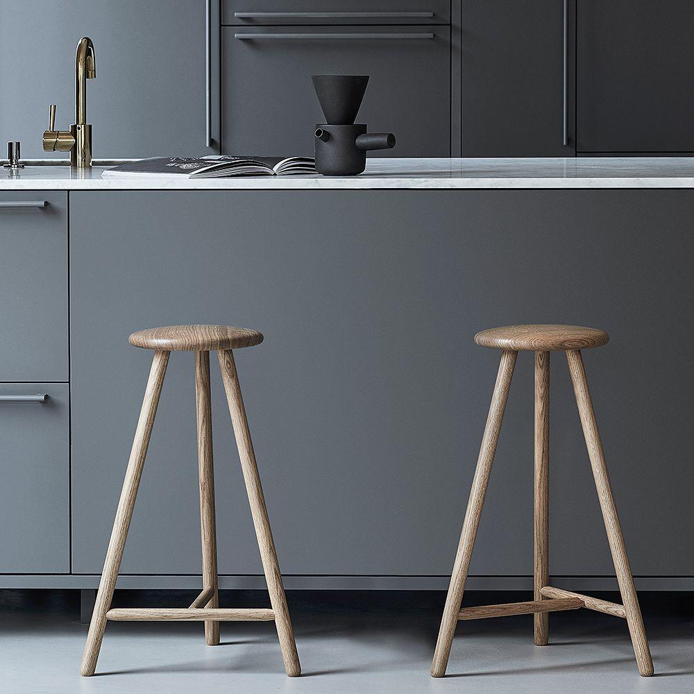 NIkari Perch oak stools