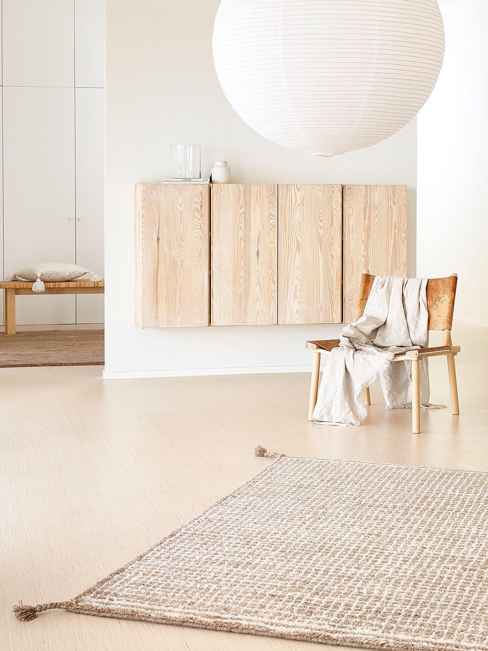 Woodnotes Uni Grid rug