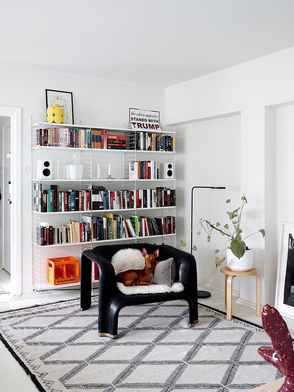 String System book shelf