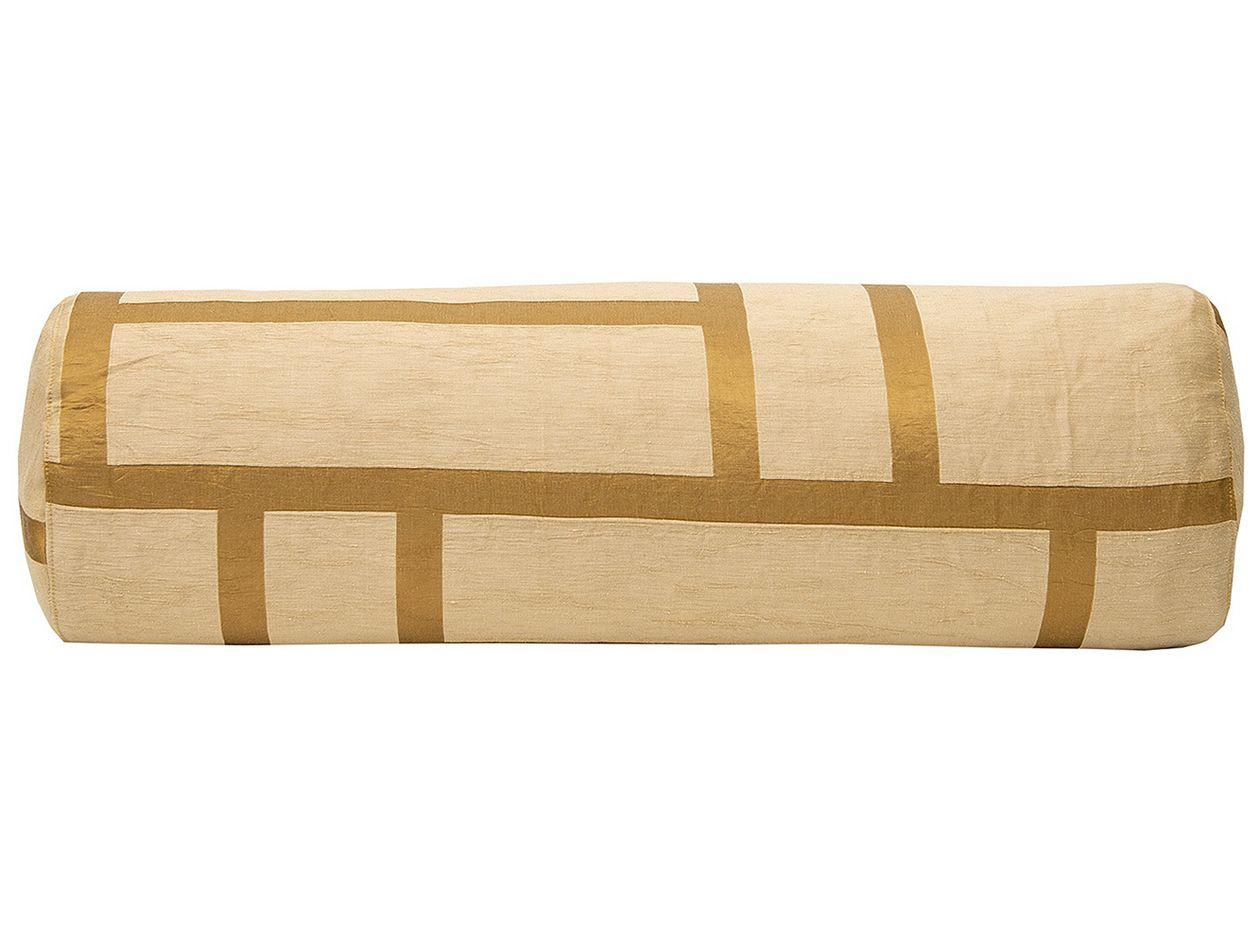 Johanna Gullichsen Palazzo tube cushion, light gold