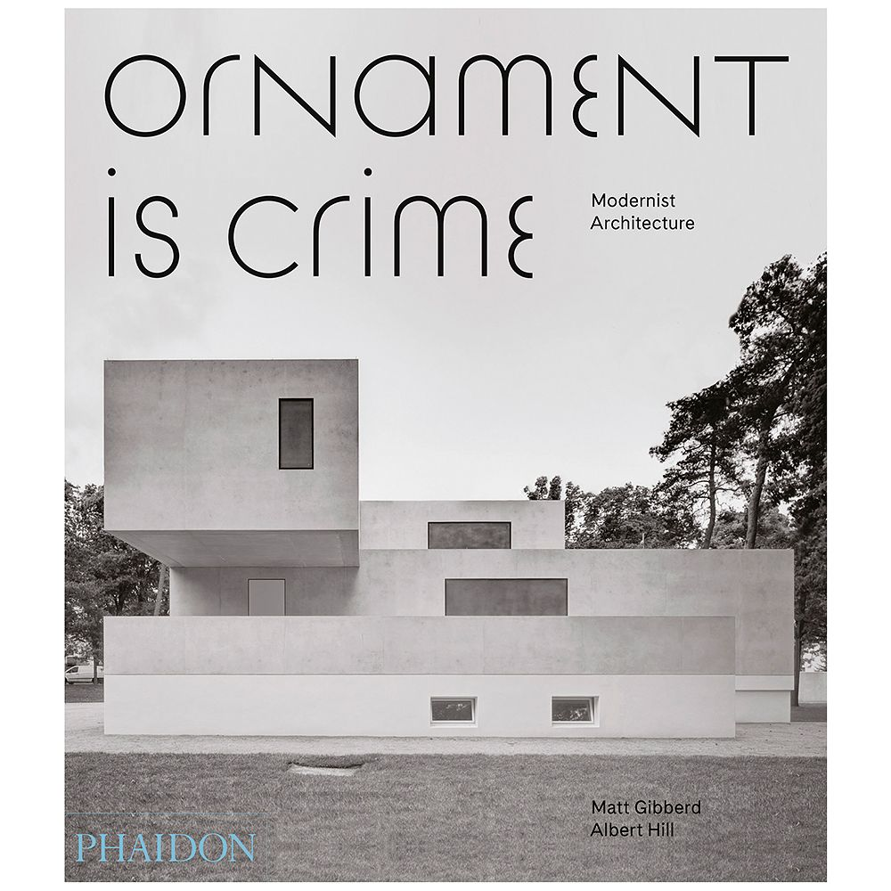 Phaidon's Ornament is Crime book