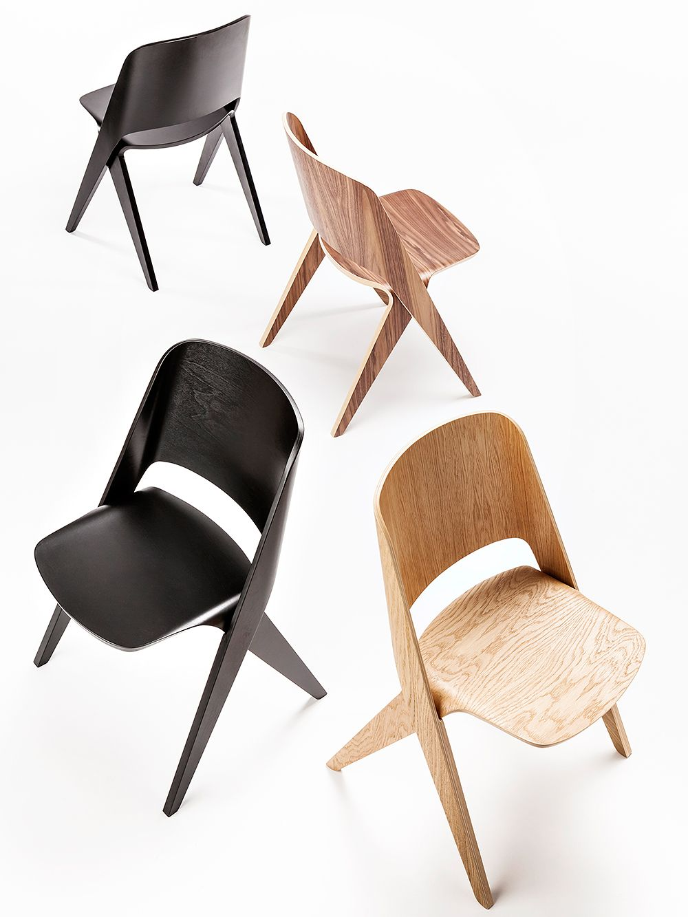 Lavitta chairs by Poiat