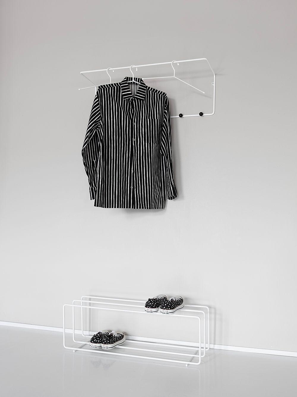 Showroom Finland Mixrack coat rack and shoe rack