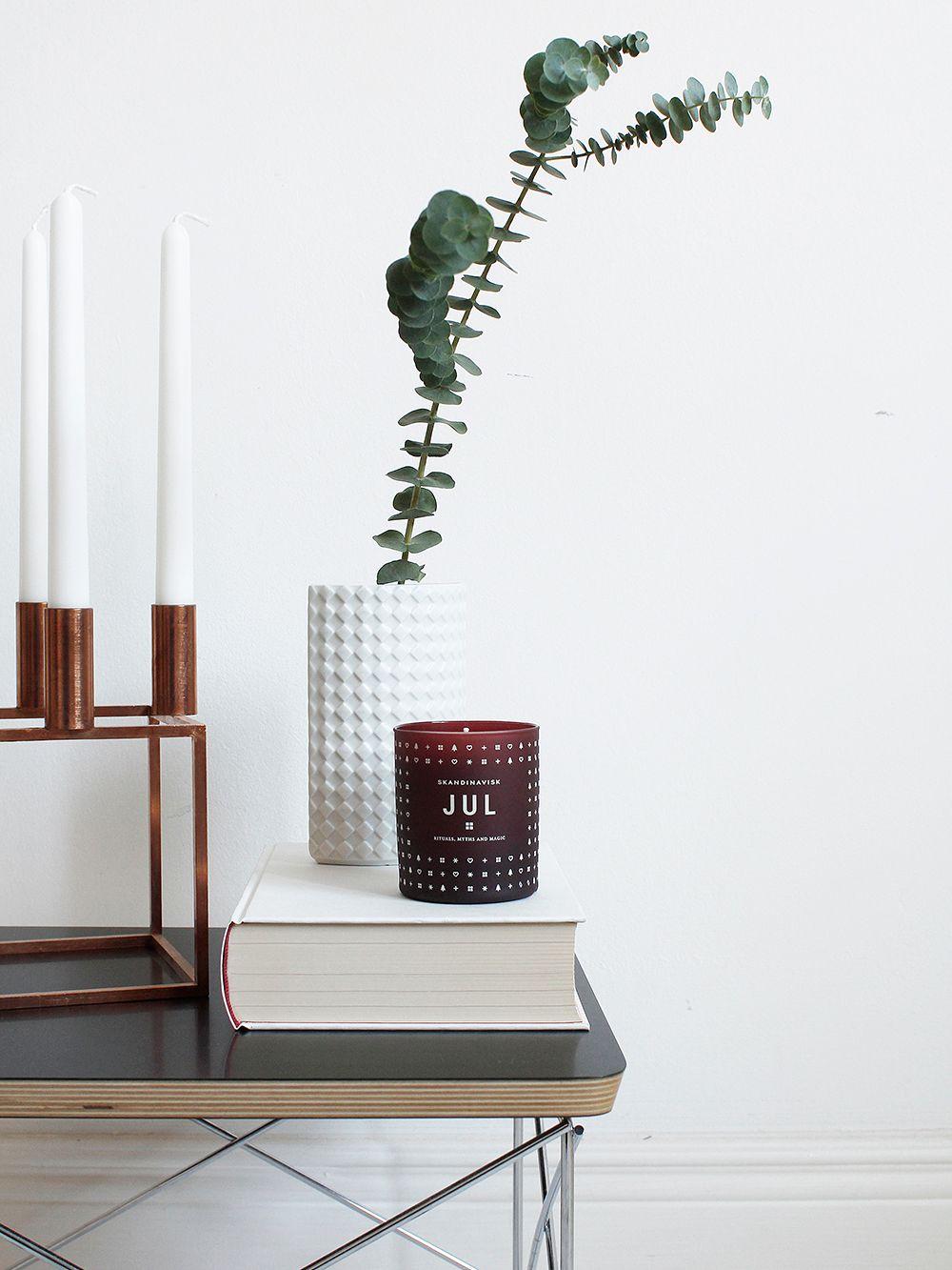 Skandinavisk scented candle, Jul