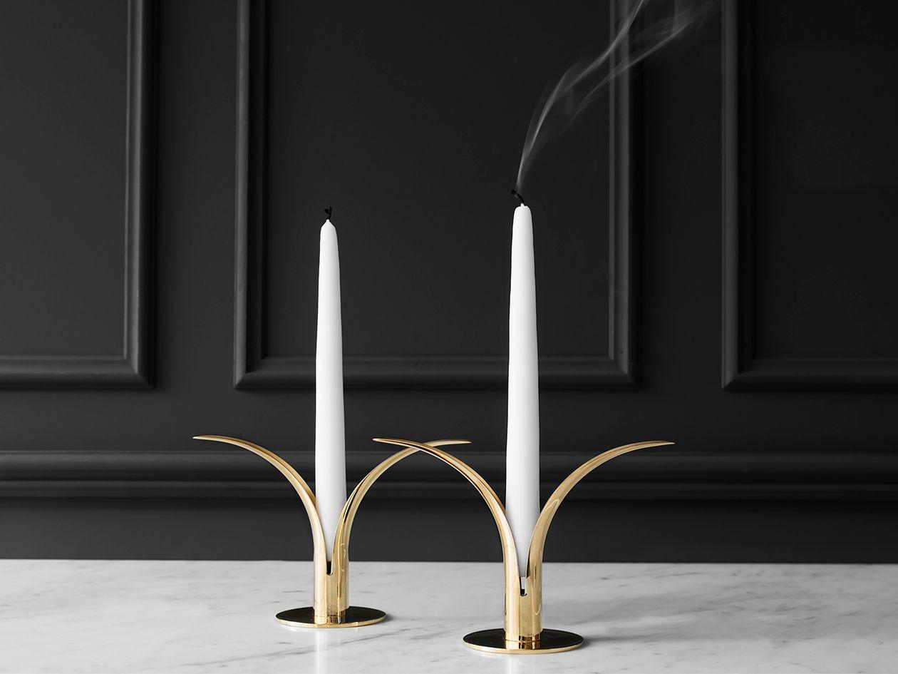 Skultuna Lily candlestick