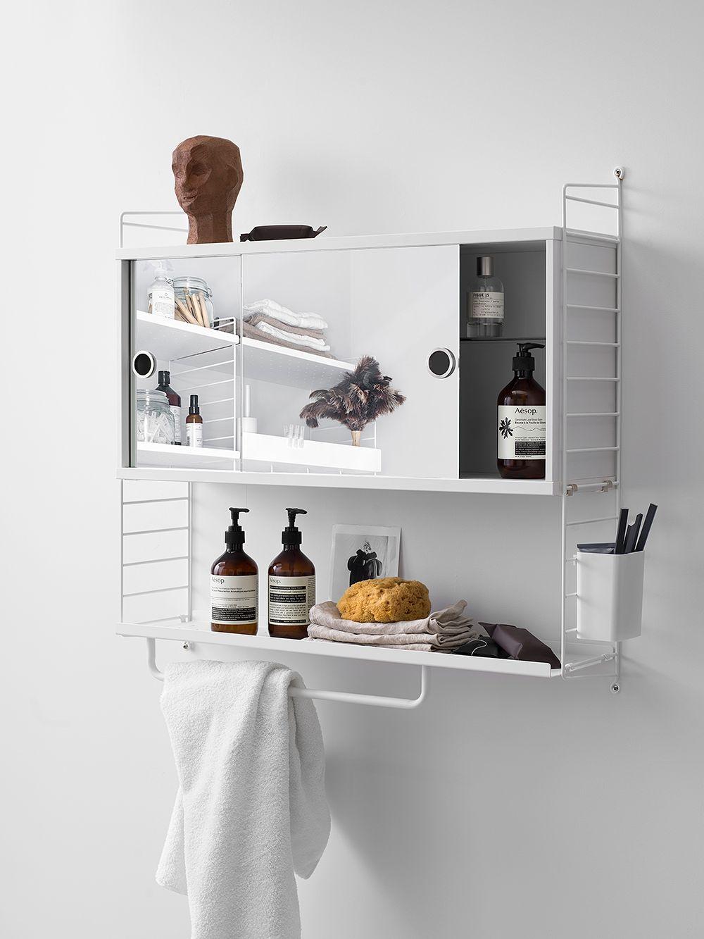 String System mirror cabinet