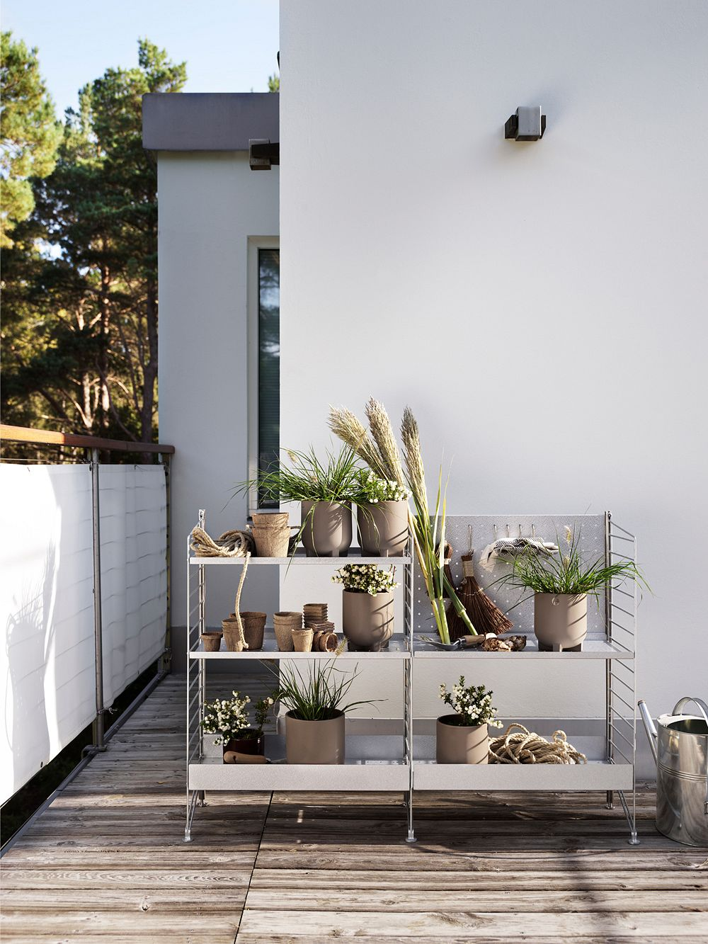 String Furniture Outdoor shelving collection