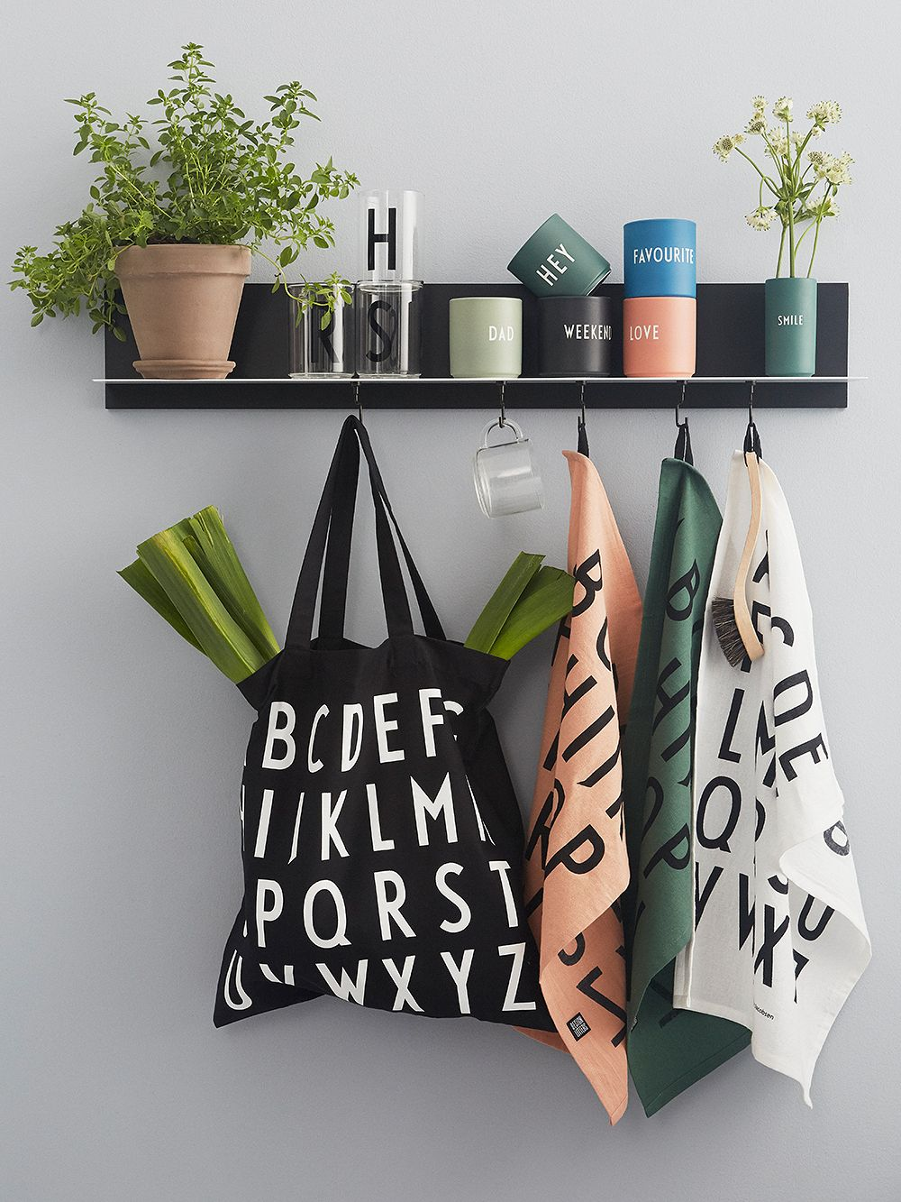 Design Letters Classic tea towels